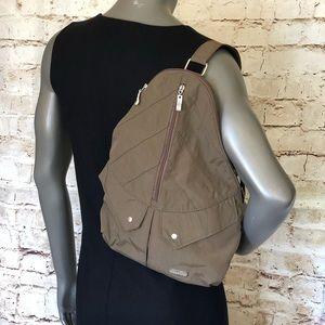 Baggalini backpack purse Portobello Brown CUTE